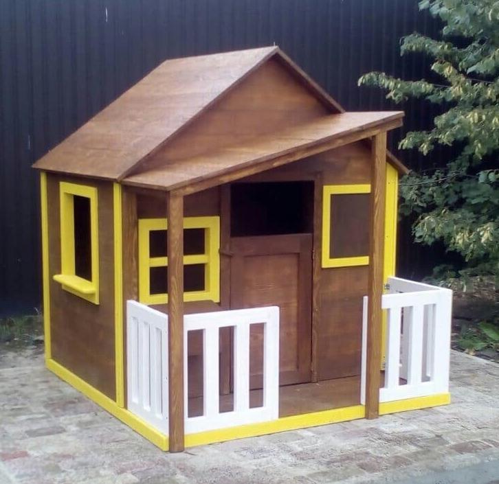 заказать деревянный домик в украине