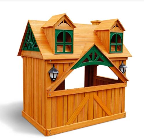 Уличные деревянные домики для детей