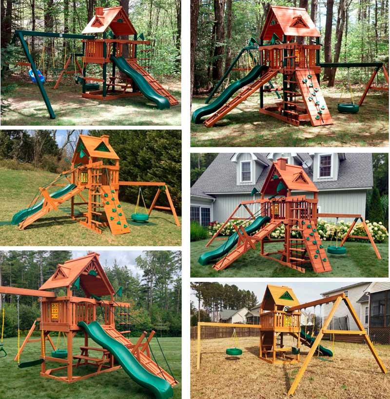 фото детской игровой площадки красивой