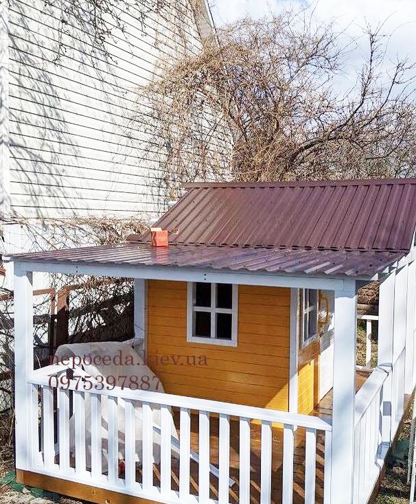 купить детский деревянный домик для улицы
