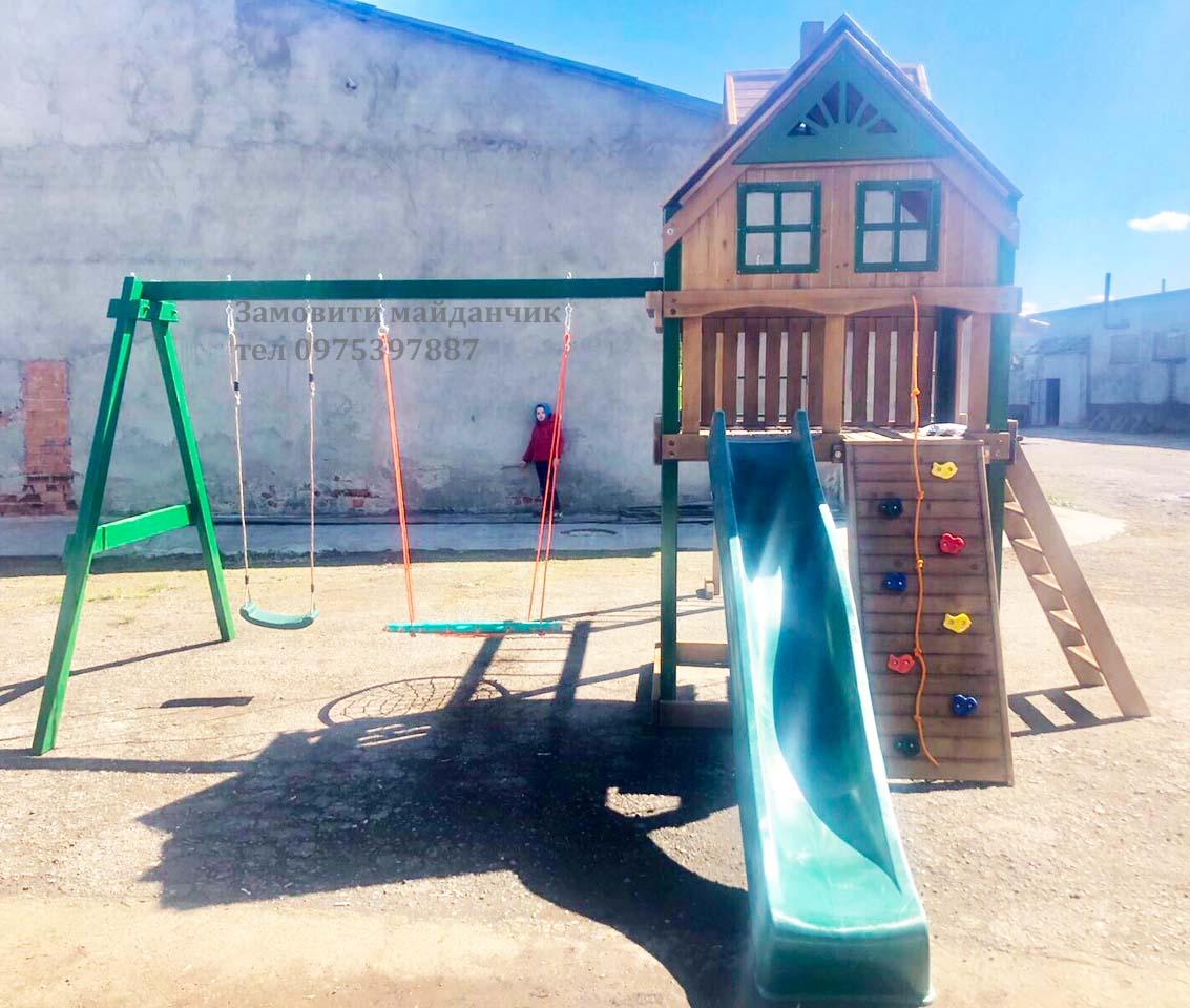 детская площадка. Отзывы и реальные фото красивой детской площадки с домиком и горкой