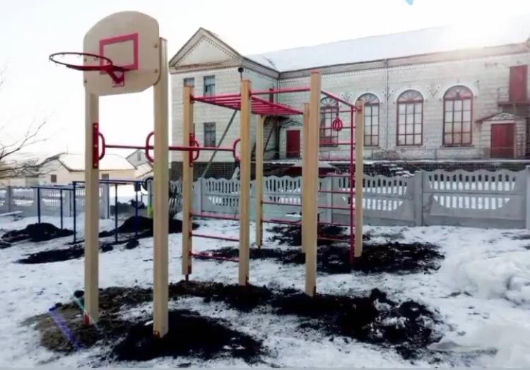 Спортивный комплекс уличный