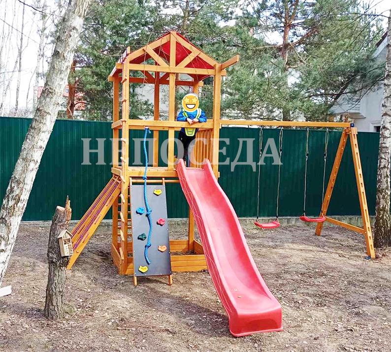 Детская площадка 3 елемента Купить непоседа