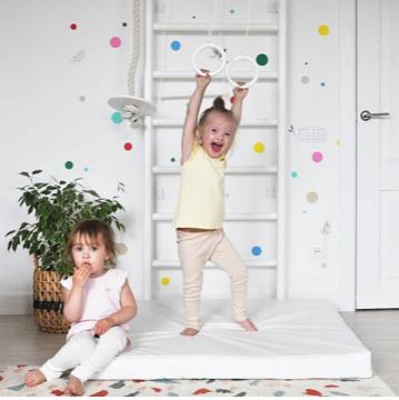 Купить спортивный гимнастический мат для детей белого и другого любого цвета в Украине