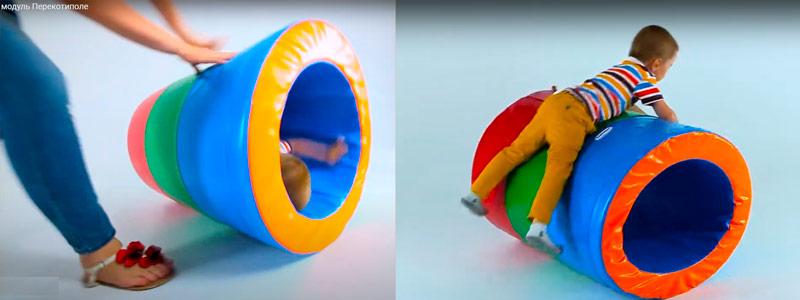 Мягкие спортивные модули для детей (из поролона, пвх, производства украина)